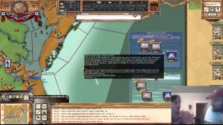 getlinkyoutube.com-AGEOD American Civil War Tutorial on Blockade Running and Boxes and late Feb 64