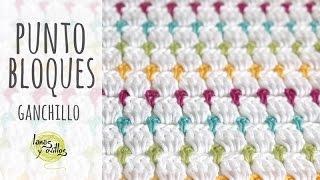 Tutorial Punto Bloques Ganchillo | Crochet