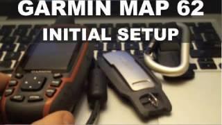 getlinkyoutube.com-Garmin GPSMAP 62 - Initial Setup - Calibrate Compass - GPSMAP 64