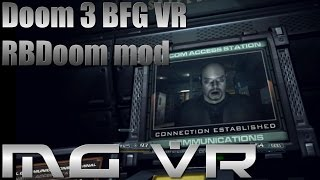 Doom 3 BFG VR RBDoom Mod Part 6 - VR Gameplay HTC Vive width=