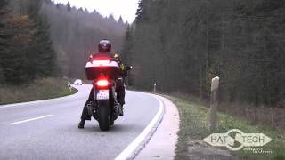 getlinkyoutube.com-BMW K1600 GT/GTL --- HATTECH exhaust 6in2in6