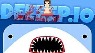 getlinkyoutube.com-Deeeep Gameplay - The Biggest Baddest Shark! - Deeeep.io Gameplay Highlights