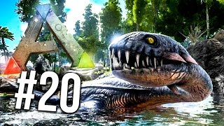 HUGE WATER DINO! PLESIOSAUR TAMING! Ark Survival Evolved 20 (Ark Survival Evolved Gameplay)