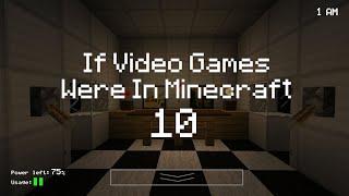 getlinkyoutube.com-If Video Games Were In Minecraft 10 (ItsJerryAndHarry)