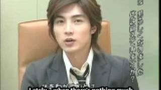 getlinkyoutube.com-mike he jun xiang in a cute interview ^-^ [eng subs]
