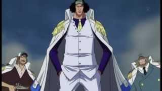 One Piece - Ace vs Aokiji