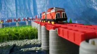 getlinkyoutube.com-プラレール貨物列車14 Takaratomy Plarail Freight Trains 14