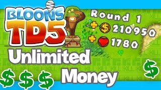 Bloons TD 5 iPhone Unlimited Money Glitch / Trick! (No Hack)