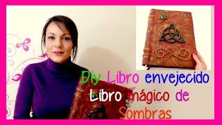 getlinkyoutube.com-Como hacer un libro antiguo tipo libro de las sombras de Charmed Embrujadas Hechiceras