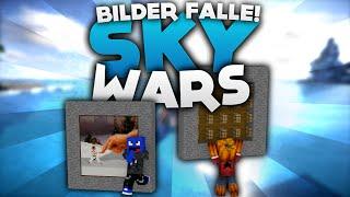 getlinkyoutube.com-Bilder FALLE! - Minecraft Sky Wars! | DieBuddiesZocken