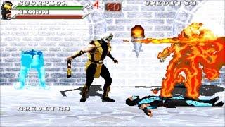 getlinkyoutube.com-Mortal Kombat: Outworld Assassins Scorpion Gameplay Playthrough