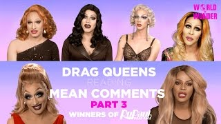 getlinkyoutube.com-Part 3 | Drag Queens Reading Mean Comments w/ Jinkx, Bebe, Raja, Raven, Chad, Tyra, Sharon, Violet