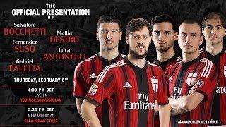 Милан представи новите