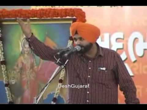 Navjot Singh Siddhu's speech at Narendra Modi's Sadbhavana mission fast venue