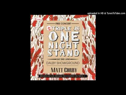 Matt Corby - Runaway - One Night Stand 2012