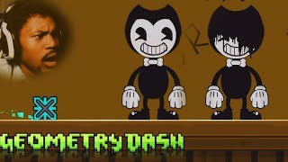 BENDY AND THE INK MACHINE LEVEL!?   Geometry Dash #22