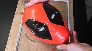 getlinkyoutube.com-Как сделать маску Deadpool из полиморфуса (1 часть)