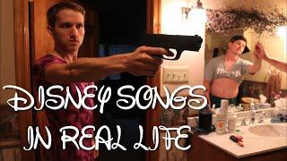 getlinkyoutube.com-DISNEY SONGS IN REAL LIFE