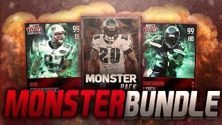 getlinkyoutube.com-MONSTER PACK BUNDLE MADDEN MOBILE! 13x MONSTER PACKS! - Madden Mobile 16