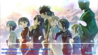 getlinkyoutube.com-Sword Art Online ll OP2 「courage」【Extended Nightcore】- Extreme HD