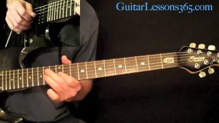 For The Love Of God Guitar Lesson Pt.3 - Steve Vai - Verse 3