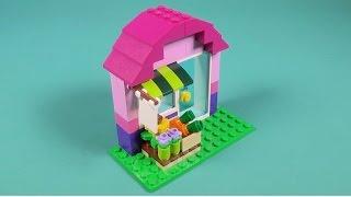 """getlinkyoutube.com-Lego Flower Shop Building Instructions - Lego Classic 10692 """"How To"""""""