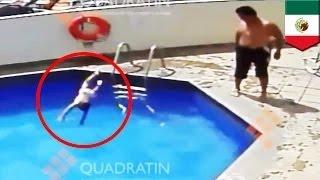getlinkyoutube.com-زوج الأم يرمي الإبنة البالغة ثلاثة أعةام في المسبح حتى تغرق