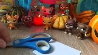 getlinkyoutube.com-LPS: Przygotowania do Halloween Littlest Pet Shop !!!
