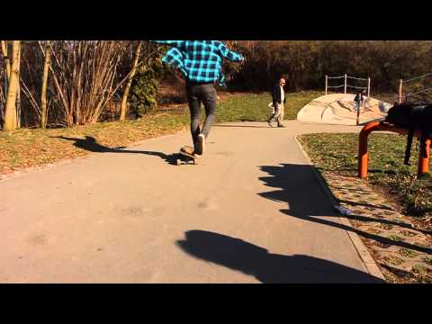 Jonas Mejtsky Short Longboard Dancing Edit from Prague - Branik
