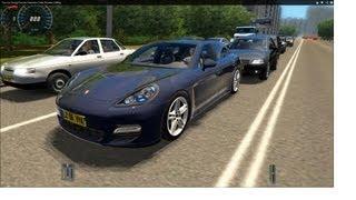 getlinkyoutube.com-City Car Driving Porsche Panamera Turbo Remake [1080p]