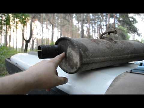 О замене выхлопной трубы-глушителя (задняя часть) опель кадетт