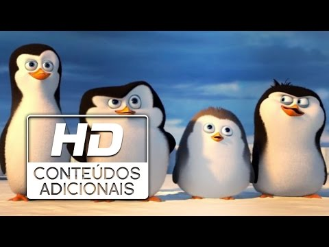Os Pinguins de Madagascar | Curta Dublado HD | 2014