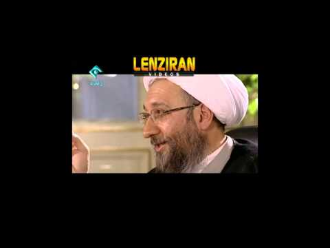 Ayatollah Sadegh Larijani talk about sending to paradise in TV talk show