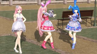 getlinkyoutube.com-【MMD】ECHO 【Gibpuri,Sorun Lolita & Rindere Wedding】