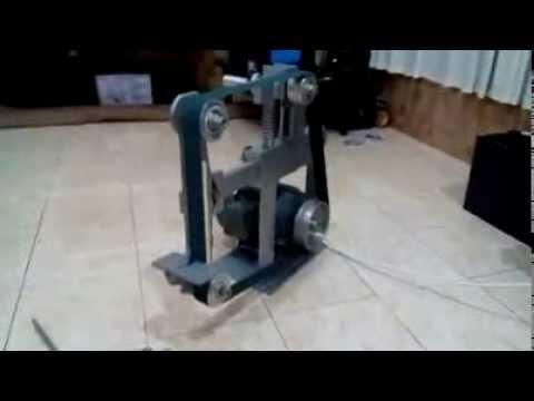 DIY BELT GRINDER by pandanganteng