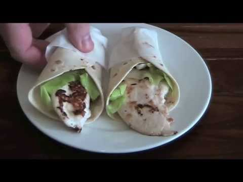 Seared Chicken Snack Wraps - RECIPE