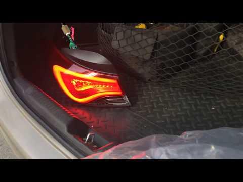 Hyundai Elantra tuning задний фонарь 2