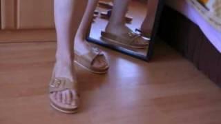 getlinkyoutube.com-cork slippers - fashion show
