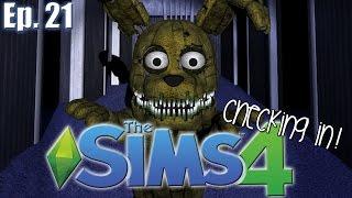 getlinkyoutube.com-PlushTrap IS BORN!!! - The Sims 4: FNAF Theme - Ep. 21