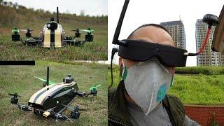 getlinkyoutube.com-OFM Hyper 330 FPV Racing Quadcopter FPV Proximity Teaser