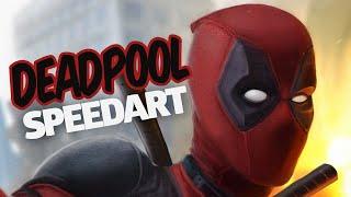 getlinkyoutube.com-Deadpool - SPEEDART (Review & wallpaper DE GRAÇA!)