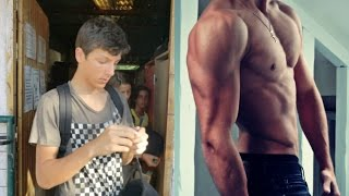getlinkyoutube.com-Before and After - 2 Years Body Transformation ( Natural ) | Workout and Musculation