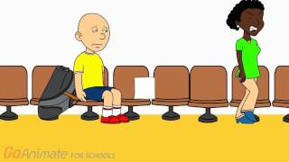 Caillou Lies To The Principal