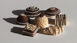getlinkyoutube.com-Quilled chocolate - Chocolat en quilling