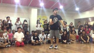 getlinkyoutube.com-141206 DANGER Choreography by BTS Choreographer Mr. Son (TRBinManila)