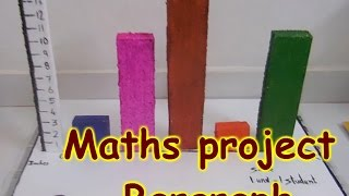 getlinkyoutube.com-DIY project for students - Maths project - Bargraph