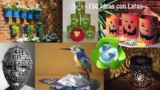 getlinkyoutube.com-Reciclaje de Latas +150 Ideas / Recycling Cans +150 Ideas