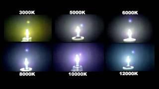 getlinkyoutube.com-HIDKit.com HID Color Spectrum High Intensity Discharge Light Bulb