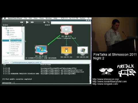 Armitage's Top 10 Power User Features (Shmoocon 2011 Firetalks)
