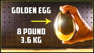 Casting a Mirror Polished Golden Egg (Brass) width=